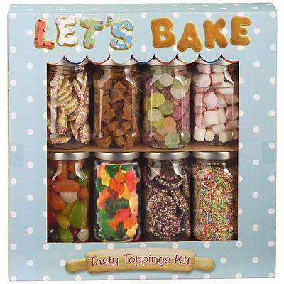 Let S Bake Tasty Baking Toppings Kit 570g Lakeland