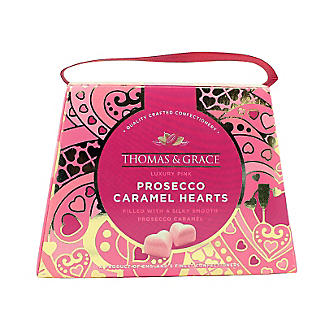 Thomas & Grace Luxury Pink Prosecco Caramel Hearts alt image 3