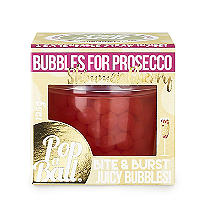 Cherry Shimmer PopaBall for Prosecco