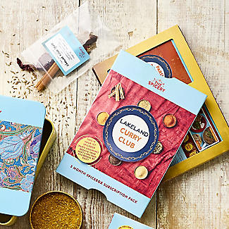 Lakeland Curry Club 3 Month Subscription Gift Box alt image 2