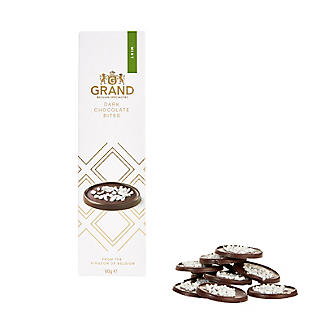 Grand Belgium Dark Chocolate and Mint Bites 60g