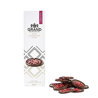 Grand Belgium Dark Chocolate and Raspberry Bites 60g