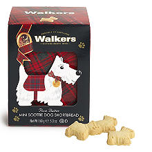 Walkers Mini Scottie Dog Shortbread Biscuits 150g