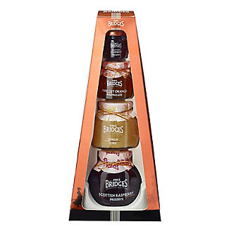 Mrs Bridges Classic Preserves Collection Tiered Gift Box