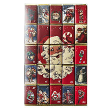 Santa Milk Chocolate Advent Countdown Slims 250g