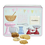 Grandma Wild's Great British Home Baking Biscuit Tin 400g