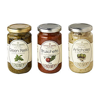 Italian Pasta Sauces and Bruschetta Toppings Gift Set alt image 2