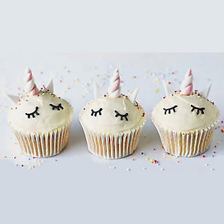 Lakeland Make Your Own Unicorn Cupcake Kit alt image 2