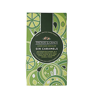 Thomas & Grace Dark Chocolate Gin Caramels 130g alt image 2