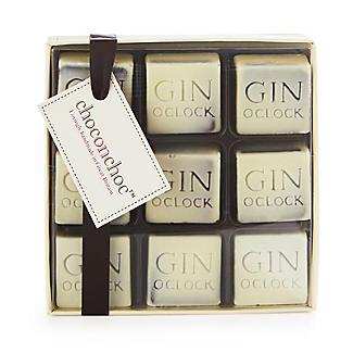 Choc on Choc 9 Gin O Clock Chocolates 110g
