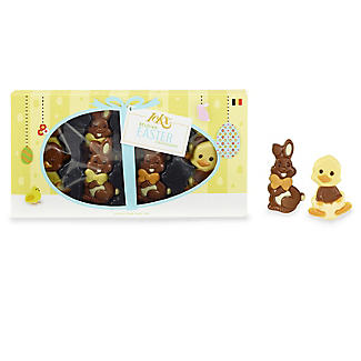 Happy Bunnies and Ducks Gift Boxed Easter Chocolates 95g