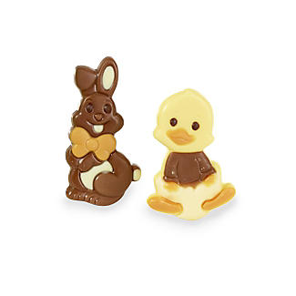 Happy Bunnies and Ducks Gift Boxed Easter Chocolates 95g alt image 2
