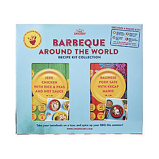 The Spicery 4-in-1 Barbecue Around the World Recipe Kit
