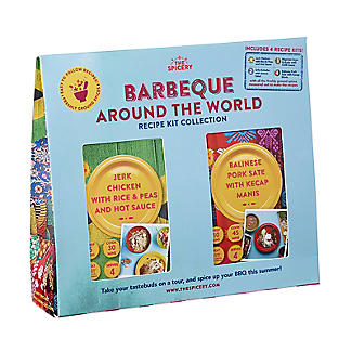 The Spicery 4-in-1 Barbecue Around the World Recipe Kit alt image 3