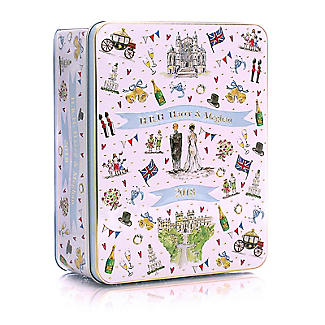Milly Green Royal Wedding Biscuit Tin 400g alt image 1