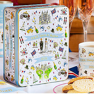 Milly Green Royal Wedding Biscuit Tin 400g alt image 3