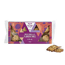 Cottage Delight Milk Chocolate Hazelnut Florentines 105g
