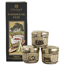 Edinburgh Preserves Farmhouse Pâté Gift Set 3 x 180g