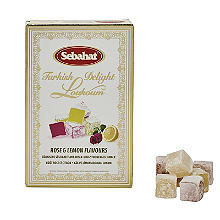 Sebahat Rose and Lemon Turkish Delight 250g