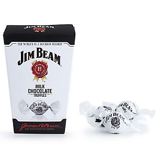 Jim Beam Milk Chocolate Truffles 130g