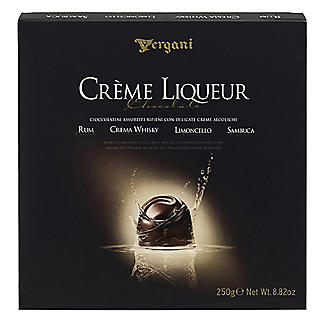 Vergani Assorted Creme Liqueur Chocolates 250g