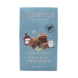 Buttermilk Rum Hot Chocolate Crumbly Fudge 100g alt image 2