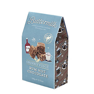 Buttermilk Rum Hot Chocolate Crumbly Fudge 100g alt image 3