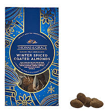 Thomas & Grace Chocolate Coated Winter Spiced Almonds 120g