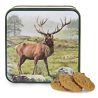 Grandma Wild's Stag Biscuit Tin and Traditional Biscuits 160g