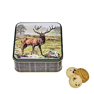 Grandma Wild's Stag Biscuit Tin and Traditional Biscuits 160g alt image 3
