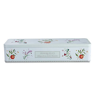Grandma Wild's Botanical Biscuit Tin and Mini Biscuits 225g  alt image 2