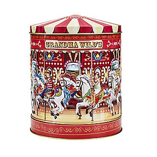 Grandma Wilds Carousel Biscuit Tin alt image 2