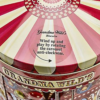 Grandma Wilds Carousel Biscuit Tin alt image 3