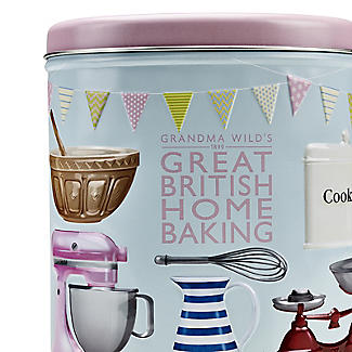 Grandma Wild's Great British Home Baking Biscuit Tin and Biscuits 200g alt image 2