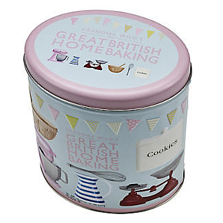 Grandma Wild's Great British Home Baking Biscuit Tin and Biscuits 200g alt image 3
