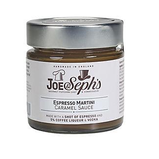 Joe & Seph's Espresso Martini Caramel Sauce 230g