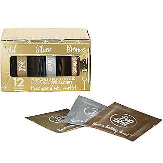 12 Popaball Flavourless Drink Shimmer Sachets Gift Set