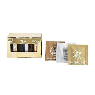 12 Popaball Flavourless Drink Shimmer Sachets Gift Set alt image 5