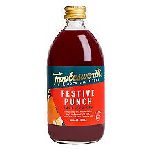 Tipplesworth Festive Punch Cocktail Mixer 500ml