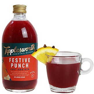 Tipplesworth Festive Punch Cocktail Mixer 500ml alt image 3