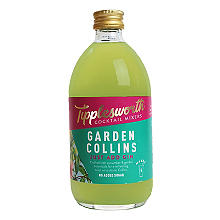Tipplesworth Garden Collins Cocktail Mixer for Gin 500ml