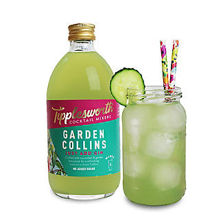 Tipplesworth Garden Collins Cocktail Mixer for Gin 500ml alt image 4