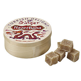 Hazer Baba Ginger Turkish Delight 250g