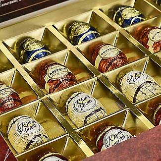 Abtey Whisky and Rhum Dark Chocolate Liqueur Assortment 200g alt image 2