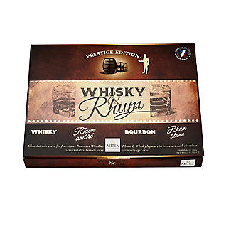 Abtey Whisky and Rhum Dark Chocolate Liqueur Assortment 200g alt image 3