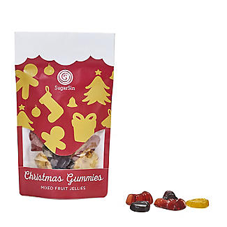 Sugarsin Christmas Gummies Mixed Fruit Jellies 100g alt image 1