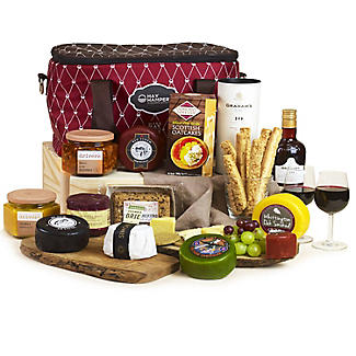 Hays Ultimate Christmas Fresh Cheese & Port Luxury Hamper