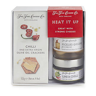 The Fine Cheese Co. Heat It Up Cheese Accompaniments Gift Set