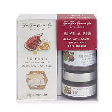 The Fine Cheese Co. Give a Fig Cheese Accompaniments Gift Set