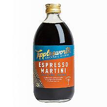 Tipplesworth Espresso Martini Cocktail Mixer 500ml